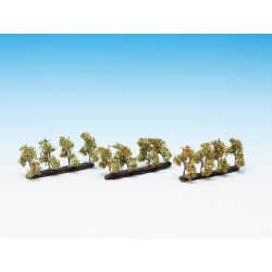 "Arbres de plantation ""pommes"" / Plantation Trees with Apples 2 cm N/Z"