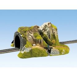 Tunnel droit 1 voie 34*27 cm