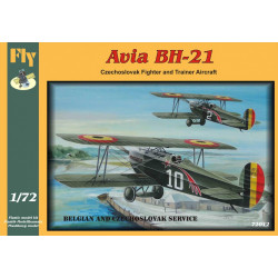 Avia BH-21, Décals Belges 1/72