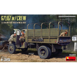 G7107 & Crew 1,5t 4x4 Cargo 1/35