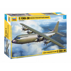 Heavy transport plane C-130J-30 1/72