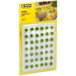 """Mini set avec 42 Touffes d'herbes """"vertes"""" / Grass Tufts, green, XL"""