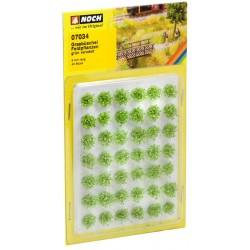 """Mini set avec 42 Touffes d'herbes """"plantes de champs"""" / Grass Tufts """"Field Plants"""", XL"""