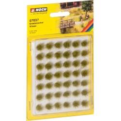 """Mini set avec 42 Touffes d'herbes """"fleurs de pré"""" / Grass Tufts """"Meadow"""""""
