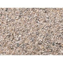 Ballast brun / Ballast, brown, 250 gr H0