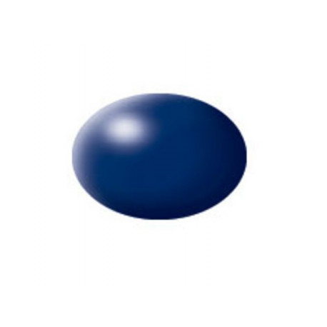 N° 350 Bleu De Prusse Satiné / Blue LUFTHANSA Silk