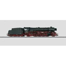 Locomotive à vapeur pour train marchandises série 41 avec tender séparé