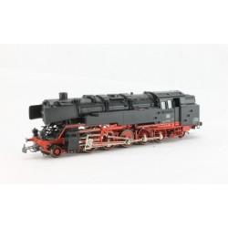 Locomotive à vapeur BR85 Hamo noire/rouge