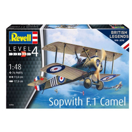 British Legends Sopwith F.1 Camel 1/48