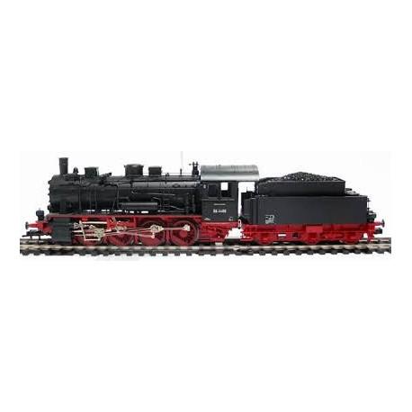 Locomotive à vapeur avec tender BR 55