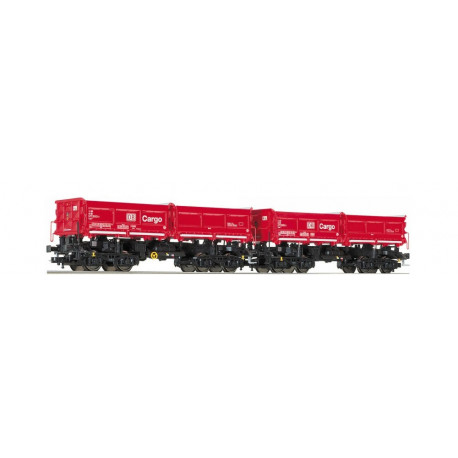 Set de deux wagons DB Cargo.