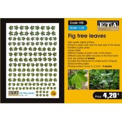 Fig tree leaves 1/35, 1/32, 1/24