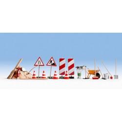 Accessoires de travaux de routes / Road Construction Accessories H0