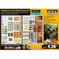 Original German Board Game Set 1/35