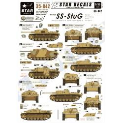 Waffen-SS StuG 1. StuG III Ausf C/D, Ausf F, Ausf G 1/35