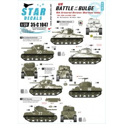 Battle of the Bulge. 6th Armored Division Shermans 1/35