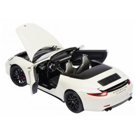 Porsche 911Carrera GTS Cabriolet, Blanc