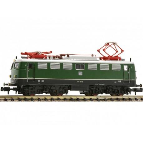 Locomotive électrique BR140 verte