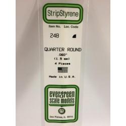 Quart-rond / Quarter Round 1.5 mm (4pces)
