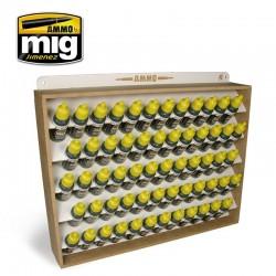 Présentoir pour pots 17 ml Ammo storage system