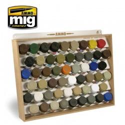 Présentoir pour pots Tamiya ou gunze / Tamiya or gunze storage system