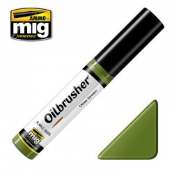 Oil Brusher Vert Olive / Olive Green 10ml