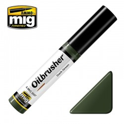 Oil Brusher Vert Foncé / Dark Green 10ml