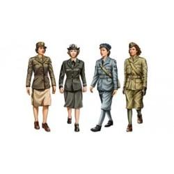 "Set Soldats alliés ""Femmes"" / Allied Female Soldier Set WWII 1/35"