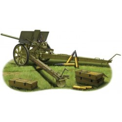 Soviet 76.2mm M1936 (F22) Divisional Gun 1/35