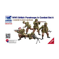 British Paratroops in combat set A WWII, 1/35