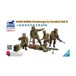 British Paratroops in combat set B WWII, 1/35