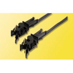 2 Attelages conducteurs de courant / Conducting couplers, 2-pole H0