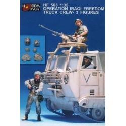 Operation Iraq freedom tank crew 3
