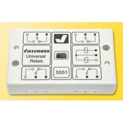Relais universel / Universal relay, 1 x 4UM