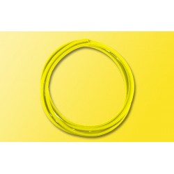 Gaine thermorétractable jaune / Heat shrink tube yellow