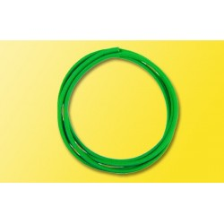 Gaine thermorétractable vert / Heat shrink tube green
