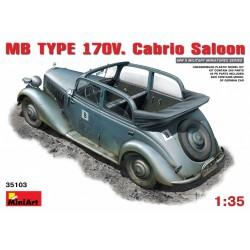 MB type 170V cabrio saloon 1/35
