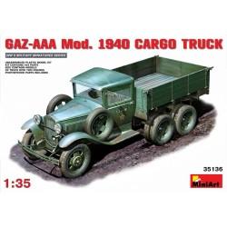 Gaz-AAA mod. 1940 camion cargo 1/35