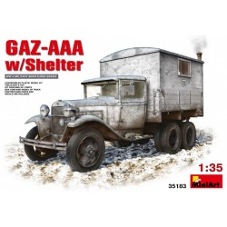 Gaz-AAA w/ shelter 1/35