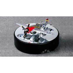 Vitrine rotative avec mirroir / Display case turntable w/mirror Ø 182mm