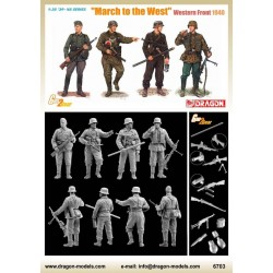 """""""March to the West"""" (Western Front 1940) WWII 1/35"""