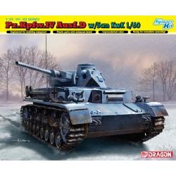 Pz.Kpfw.IV Ausf.D w/5cm L/60 WWII 1/35