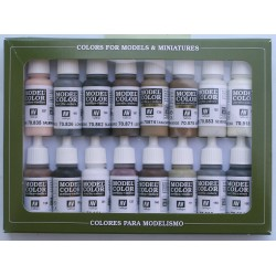 Model Color Couleurs Equestres / Equestrian Colors (16*17ml)