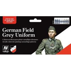 Model Color Uniformes Allemands German Field Grey Uniform (8*17ml)