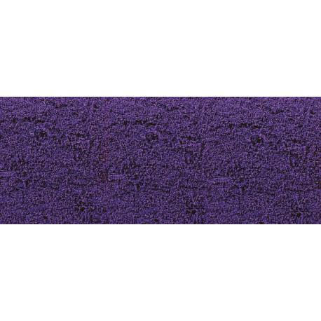 Tapis de fleurs violettes
