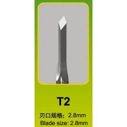 Ciseau / Chisel F3, T2, Ø 2,8 mm