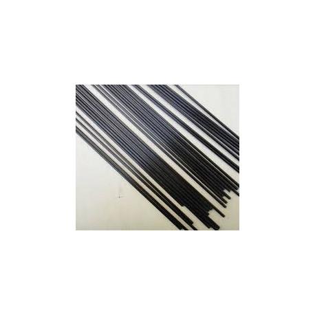 Fil fibre carbone 2 mm
