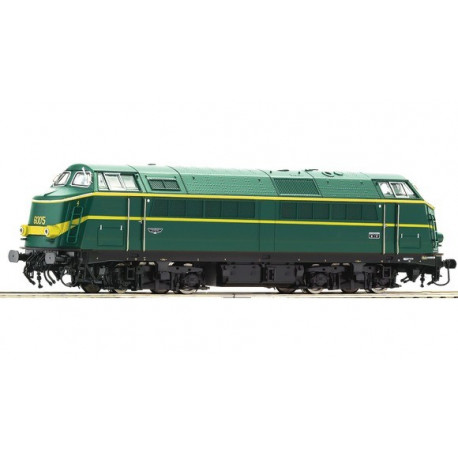 Locomotive Diesel série 60 / 6005 de la SNCB