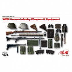 German Infantery Weapons & Equipment, WWII, 1/35