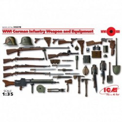 German Infantry Weapon & Equiment, WWI 1/35